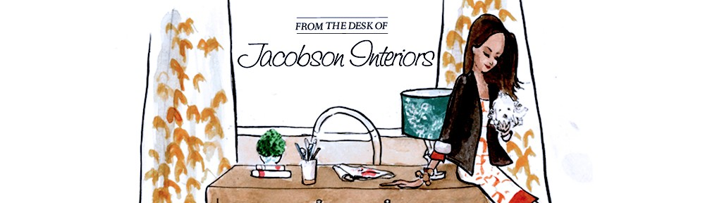 Jacobson Interior Design Blog